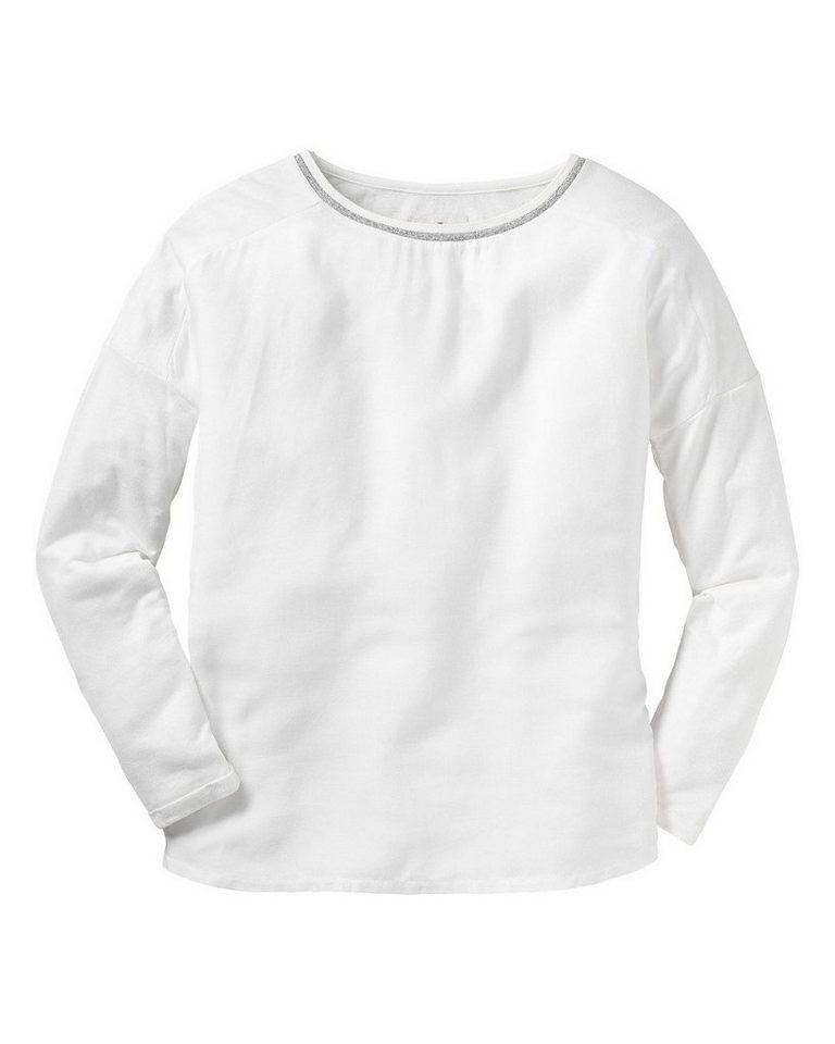BASEFIELD Shirt in Weiß