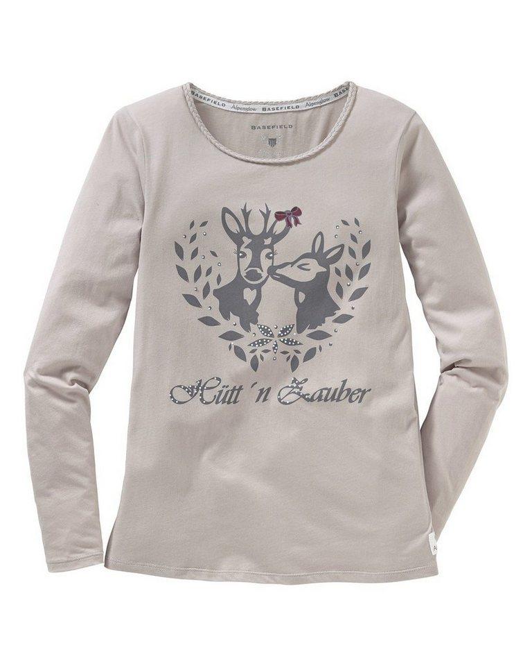 BASEFIELD Shirt Alpenglow in Grau
