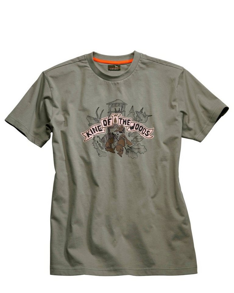 Parforce T-Shirt, King of the Woods in Schilf