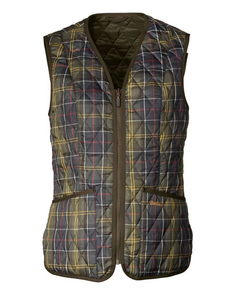 Barbour Weste Tartan Betty in Classic Tartan