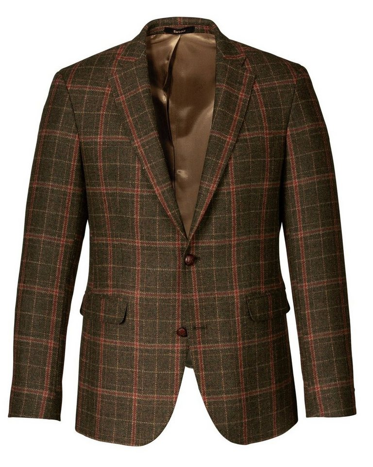 Barbour Karosakko Bourton Tailored Jacket in Oliv