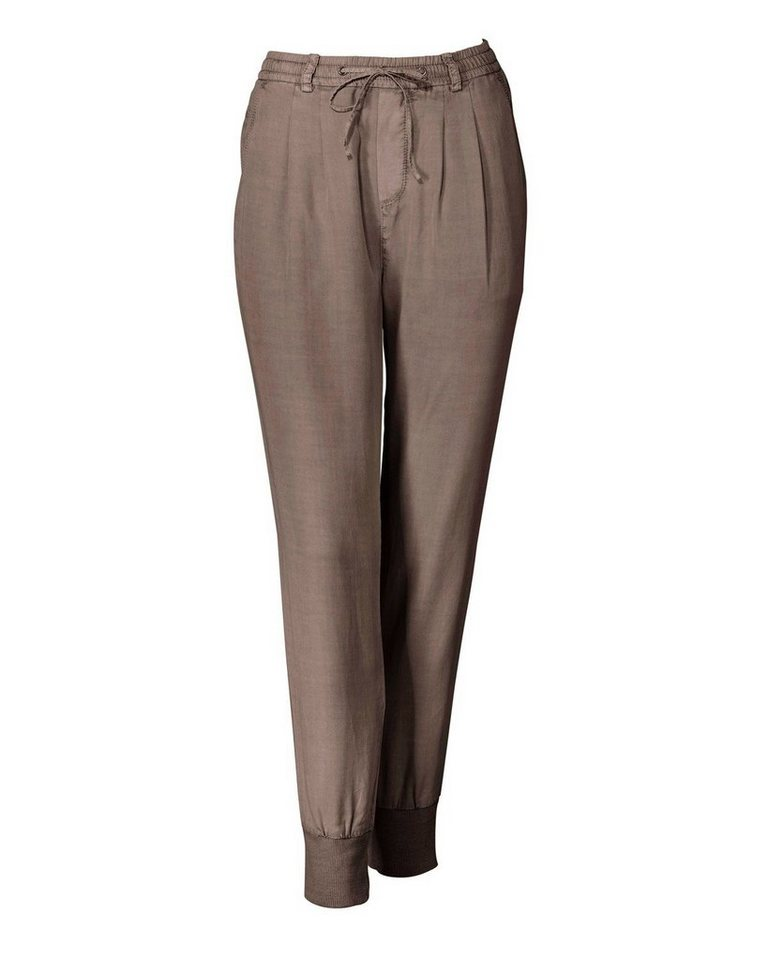Marc O'Polo Jerseyhose in Taupe