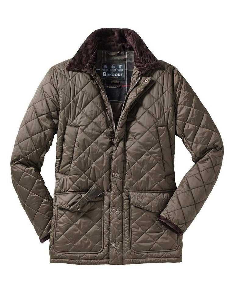 Barbour Steppjacke Canterbury in Oliv