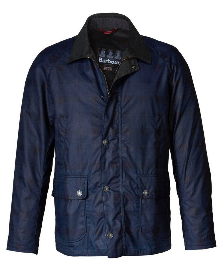 Barbour Wachsjacke Alness in Marine