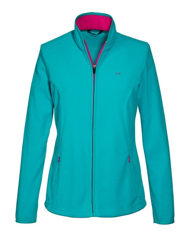 BRAX active Fleecejacke Annie in Green Lake