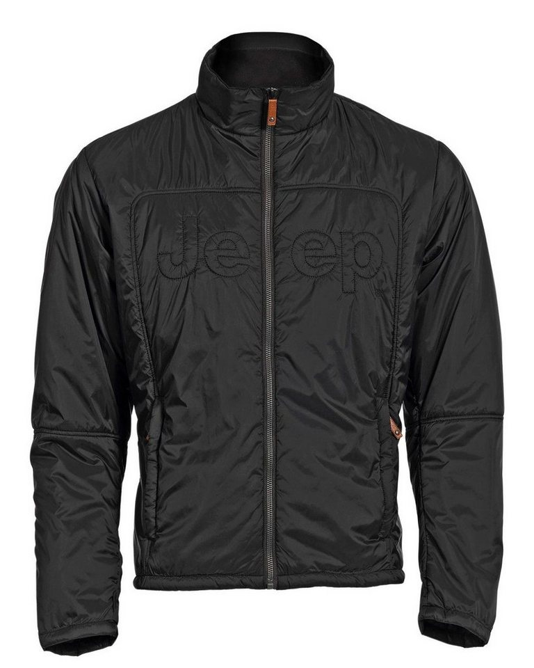 Jeep Steppjacke in Schwarz