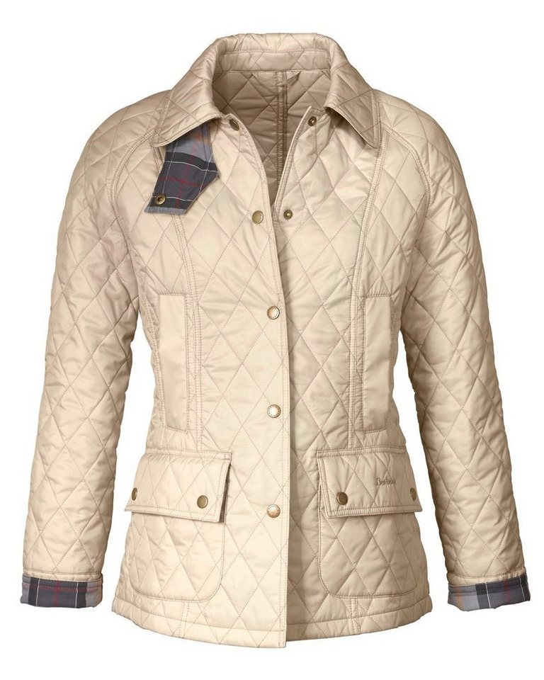 Barbour Steppjacke Summer Beadnell in Beige