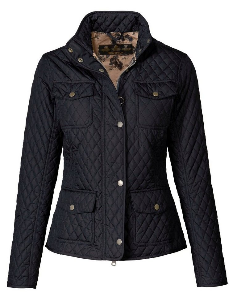 Barbour Steppjacke Kailzie in Marine