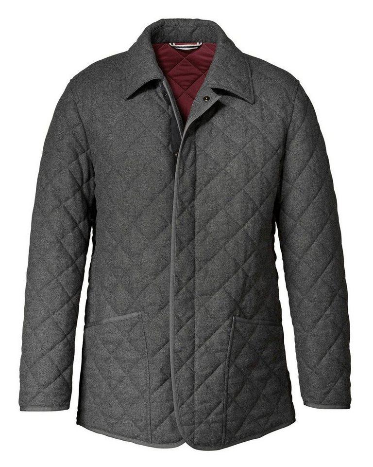 Schneiders Wollsteppjacke in Grau