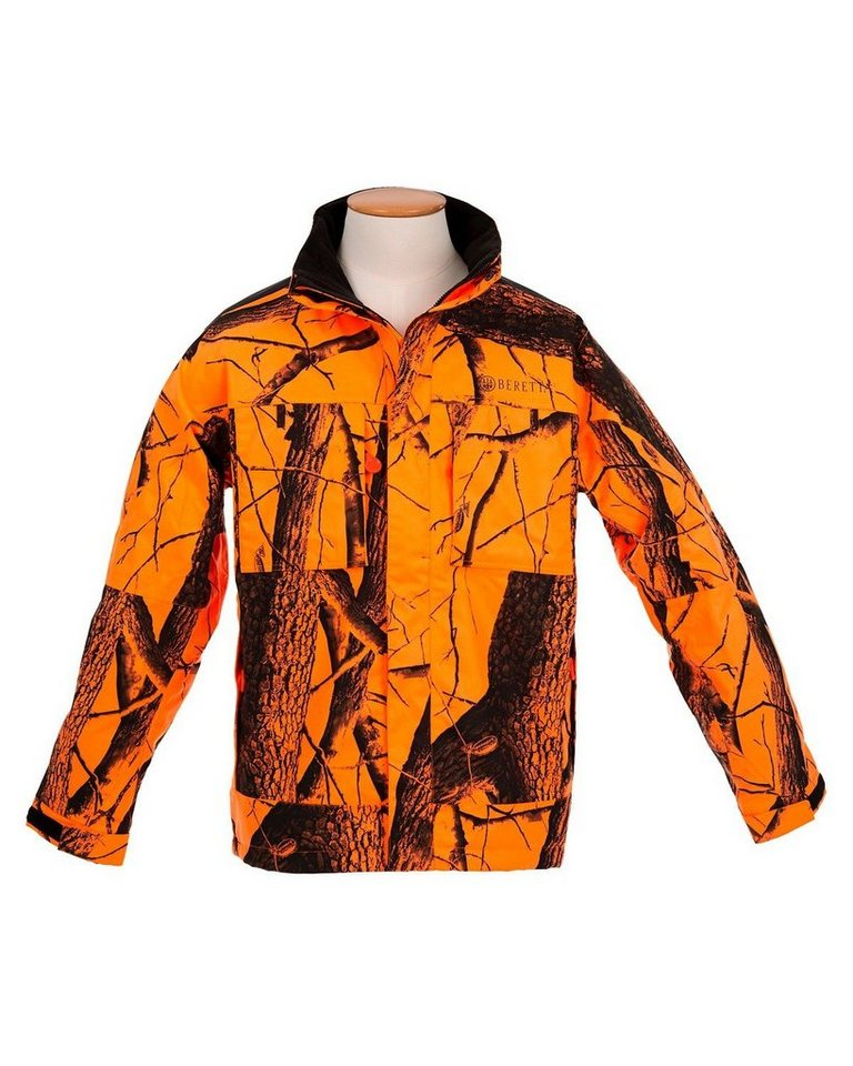 Beretta Jacke Brown Bear Signaltarn in Signaltarn Orange
