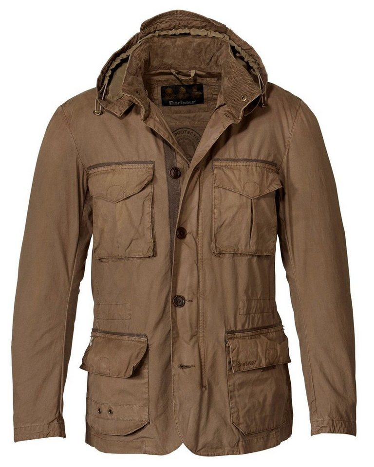 Barbour Jacke Solant in Beige