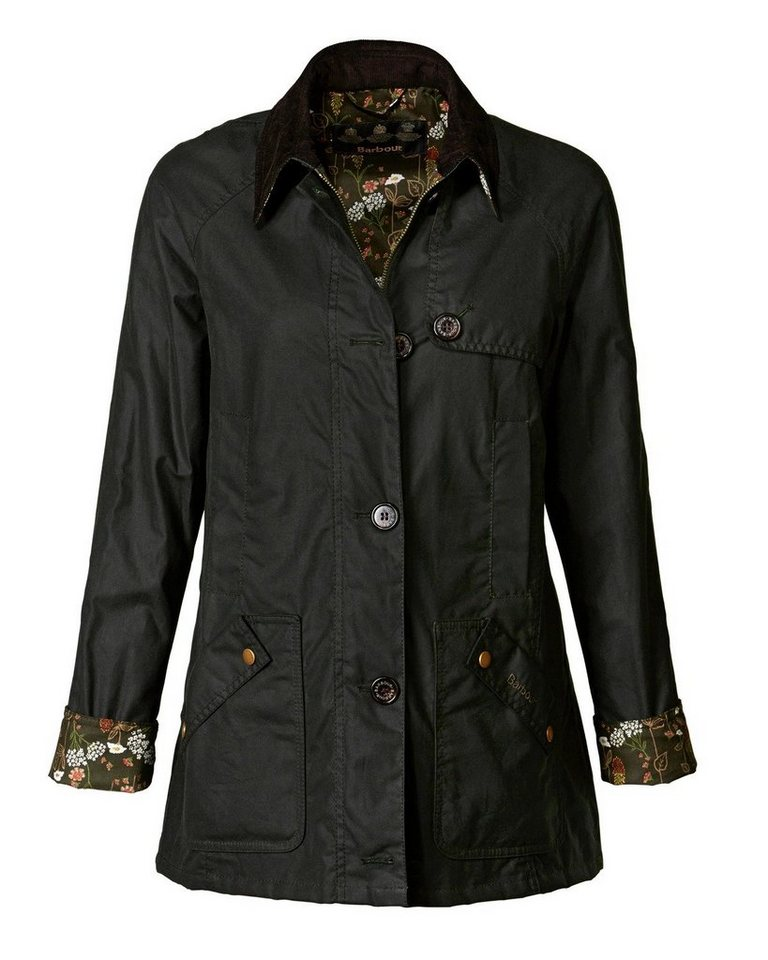 Barbour Wachsjacke Parceval in Oliv