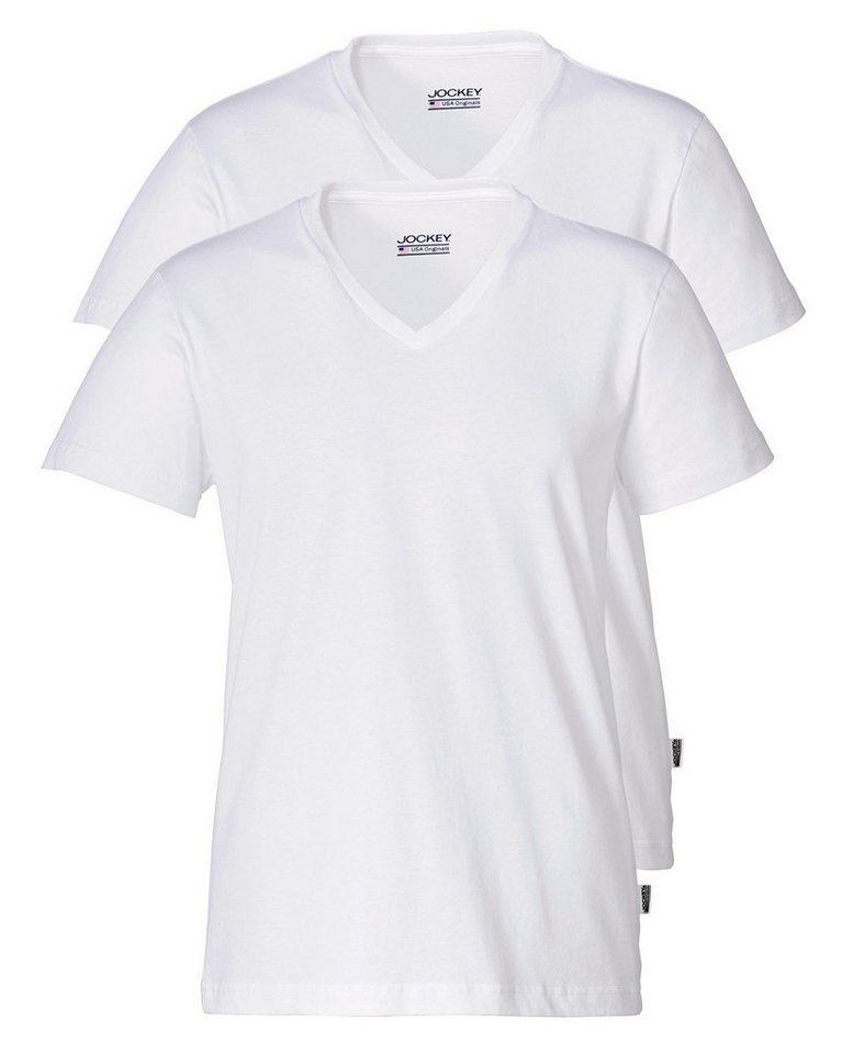 JOCKEY T-Shirt in Weiß