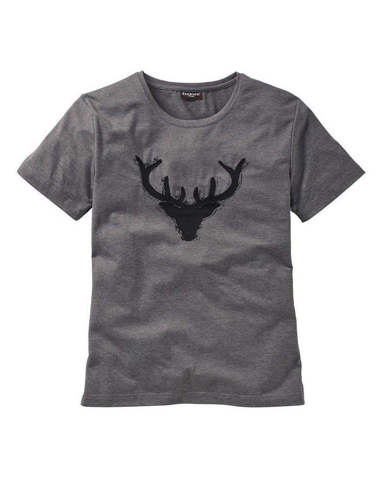 KRÜGER BUAM T-Shirt in Grau