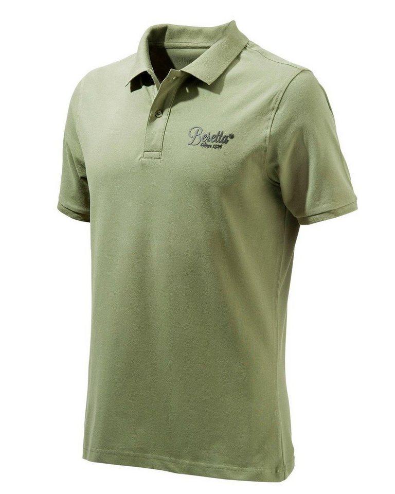 Beretta Poloshirt in oliv
