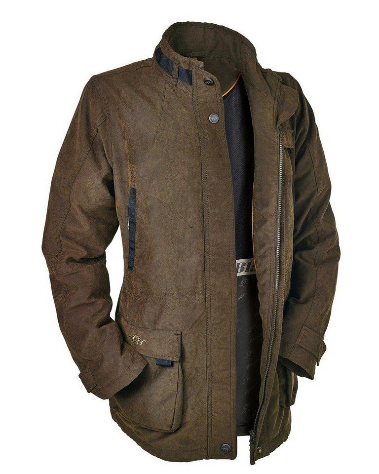 Blaser Active Outfits Argali² Jacke Light Sportive in Braun meliert