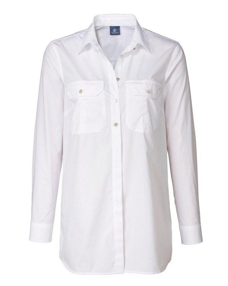 Bogner Jeans Hemdbluse in Weiß