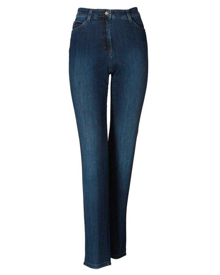 Brax Jeans Carola in Mittelblau