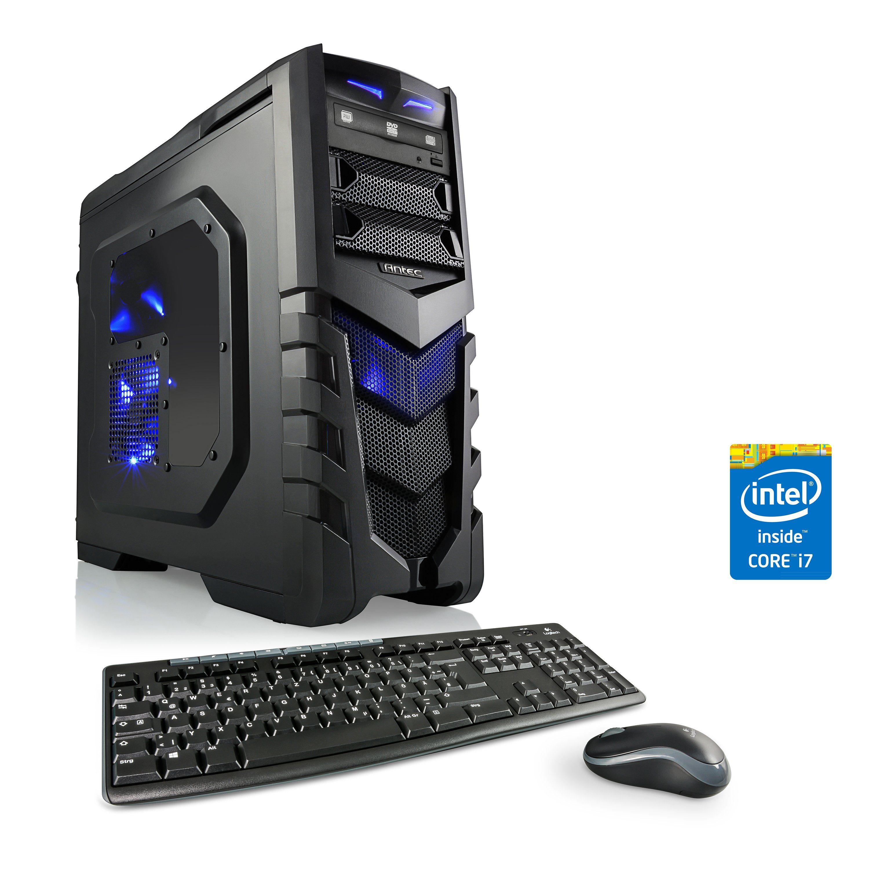 CSL Gaming PC | Core i7-4790 | GeForce GTX 1050 Ti | 16 GB RAM »Speed T7642 Windows 10 Home«