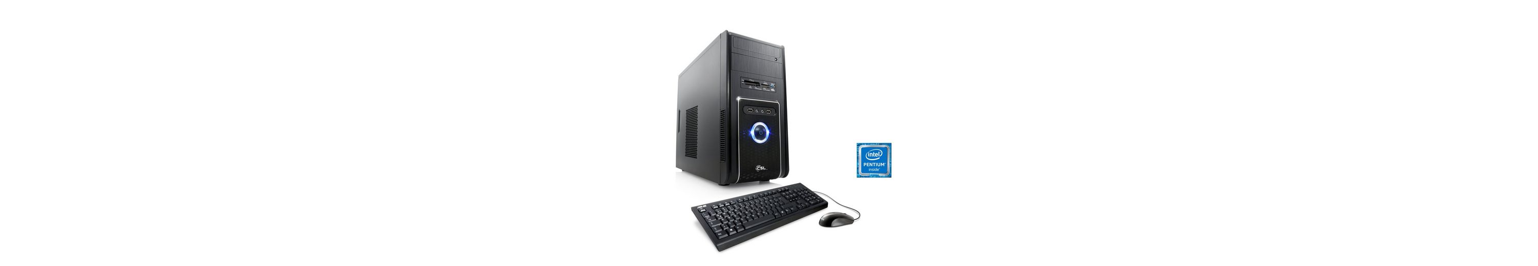 CSL Multimedia PC | Pentium G4400 | Intel HD 510 | 8 GB RAM »Speed T1822 Windows 10 Home«