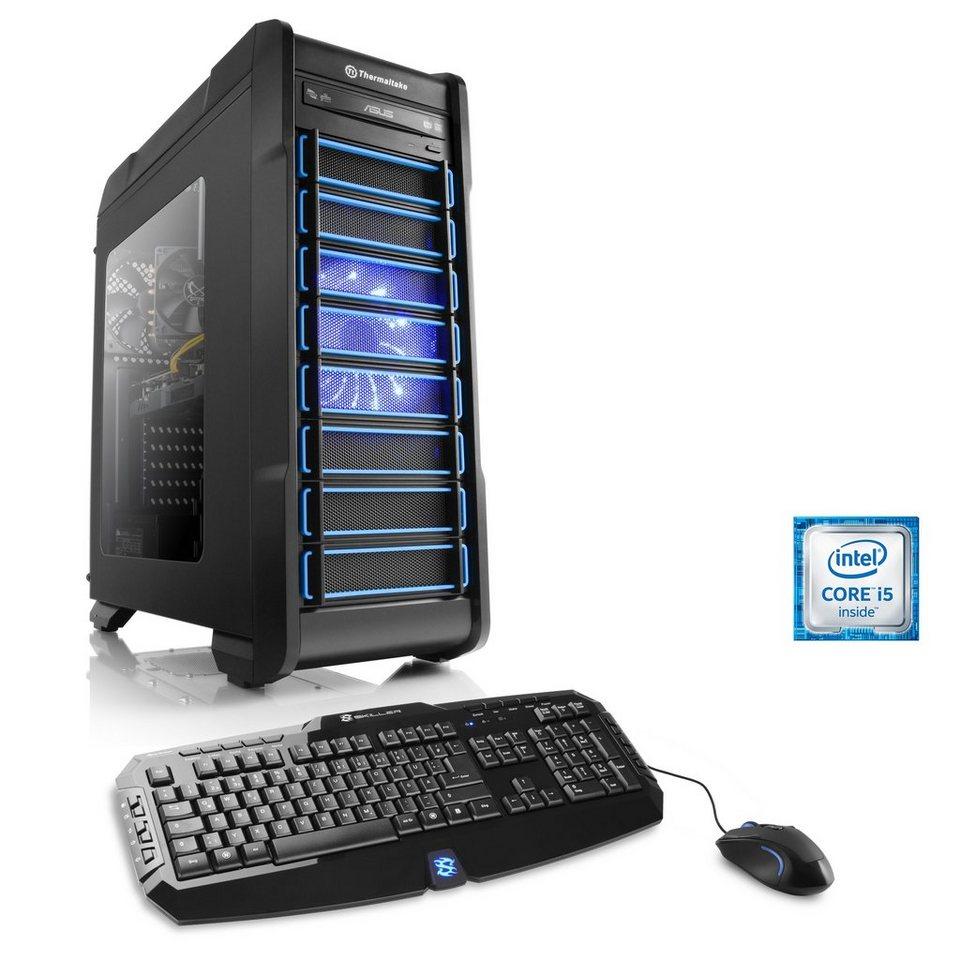 CSL Gaming PC | Core i5-6500 | GeForce GTX 1070 | 16GB DDR4 | SSD »Levitas T5440 Windows 10«