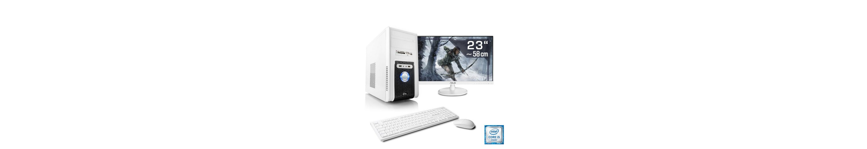 "CSL Gaming PC Set | i5-6500 | GeForce GTX 1060 | 8 GB RAM | 23"" TFT »Speed T5838 Windows 10 Home«"