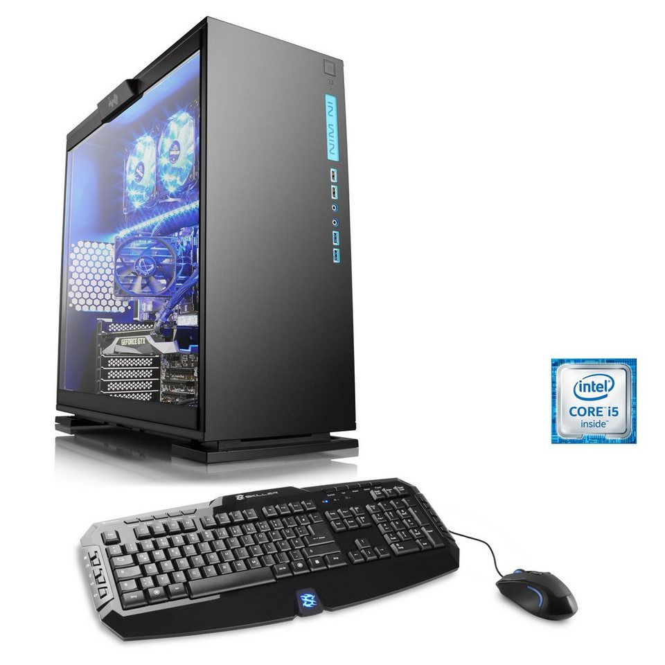 CSL Gaming PC | Core i5-6500 | GeForce GTX 1060 | 16 GB DDR4 | SSD »Levitas T5980 Windows 10«