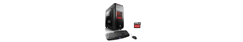 CSL Gaming PC | Athlon X4 880K | AMD Radeon RX 480 | 8 GB RAM »Levitas T4160 Windows 10«