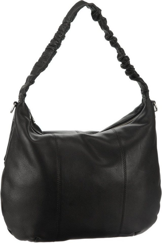 Bodenschatz Wrinkle Up Pouch Bag in Black