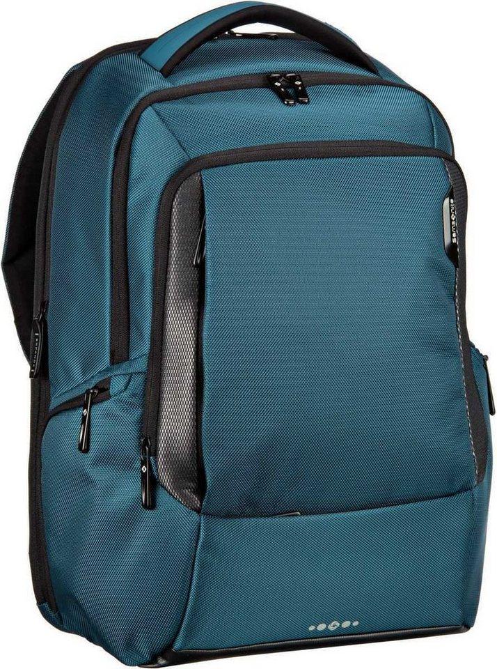 "Samsonite Cityscape Tech Backpack 17.3"" in Petrol Blue"