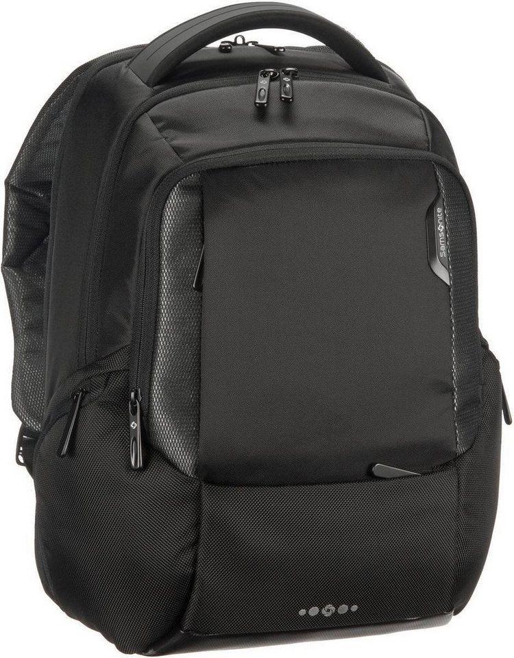 """Samsonite Cityscape Tech Backpack 14"""" in Black"""