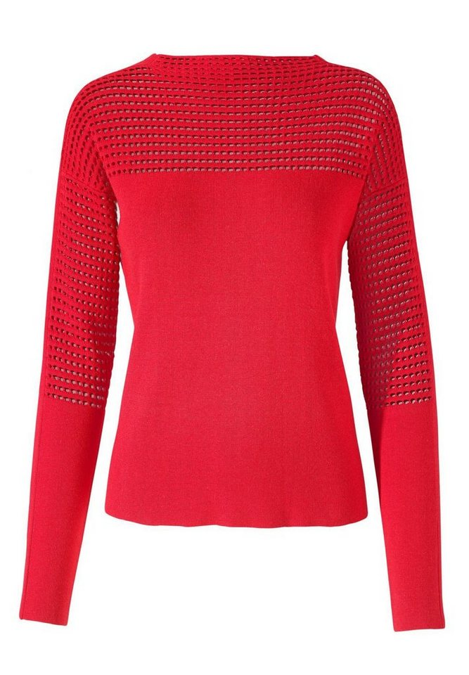 Apart Pullover Langarm in rot