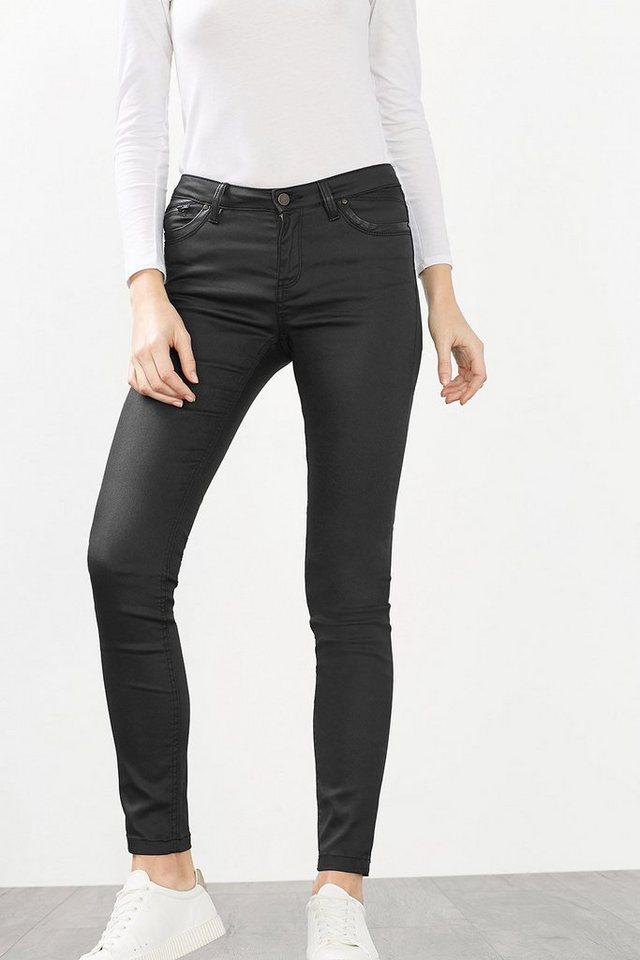 EDC Beschichtete 5-Pocket Hose in BLACK
