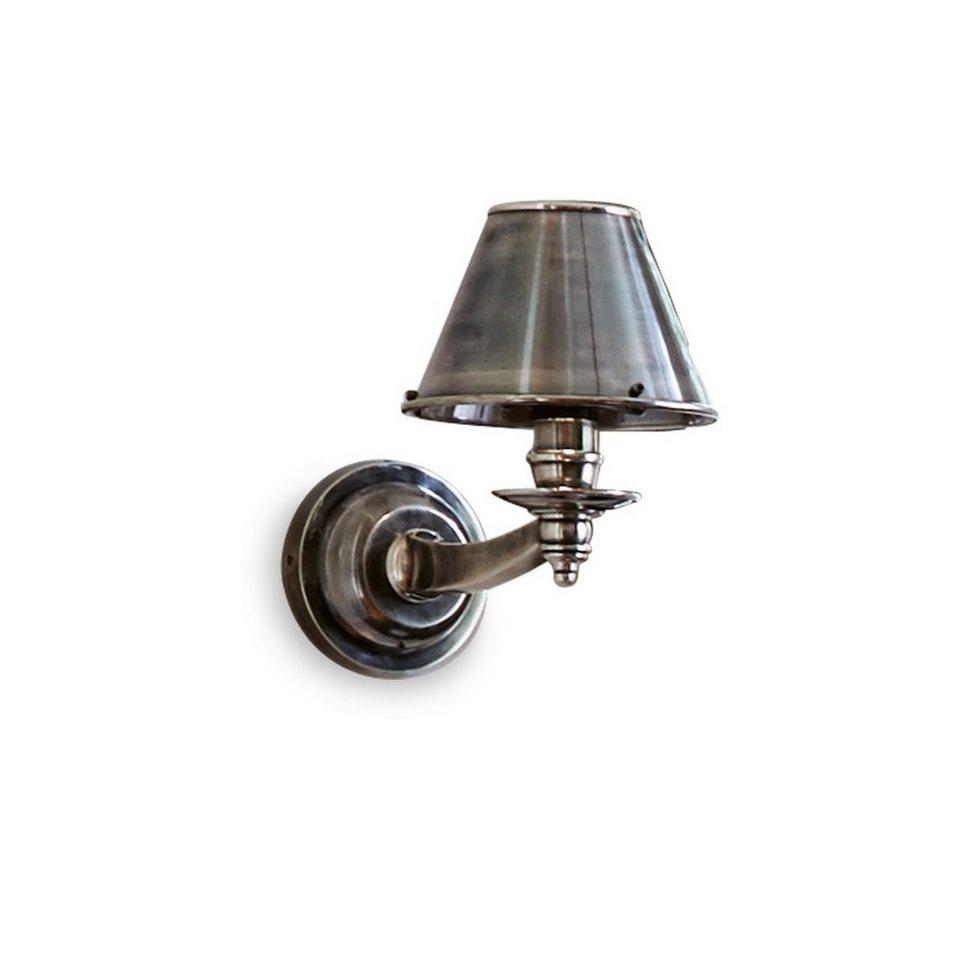 Loberon Wandlampe »Portia« in antiksilber