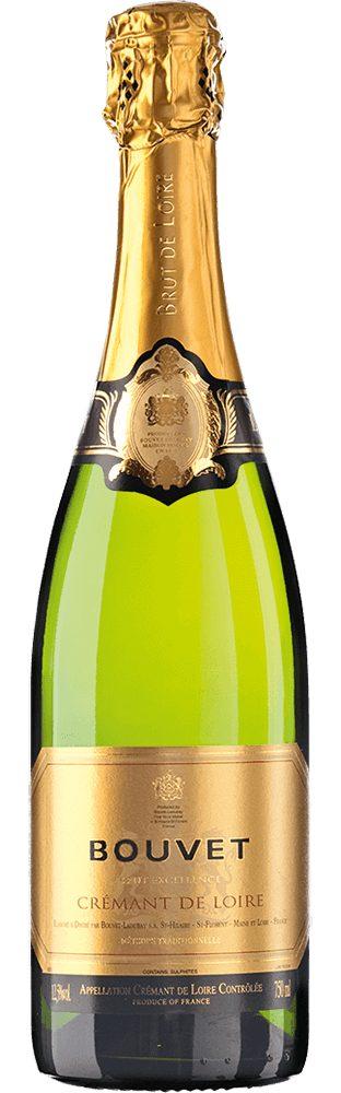 Schaumwein aus Frankreich, 12,5 Vol.-%, 75,00 cl »Crémant de Loire AOC Brut«