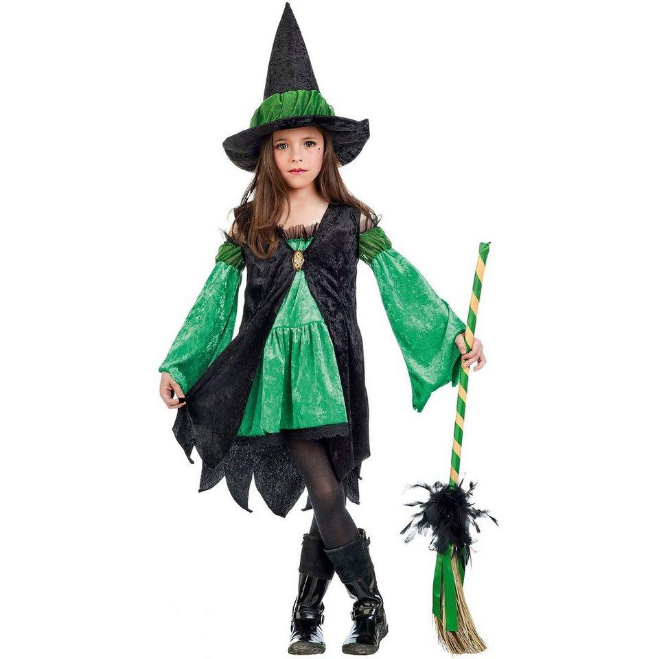 Limit Kostüm Hexe, grün in Kostüm