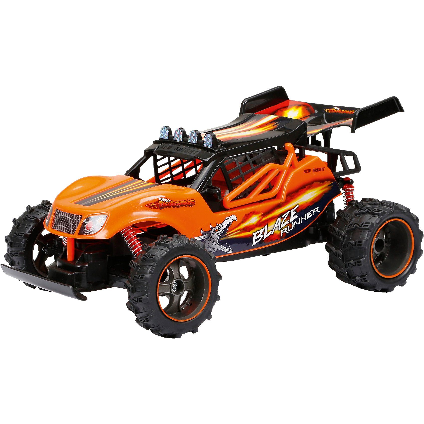 New Bright RC Fahrzeug Turbo Dragon Buggy 1:14