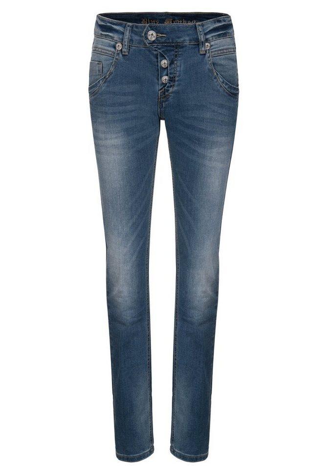 Blue Monkey 5-Pocket-Jeans »Manie 3537« in blau