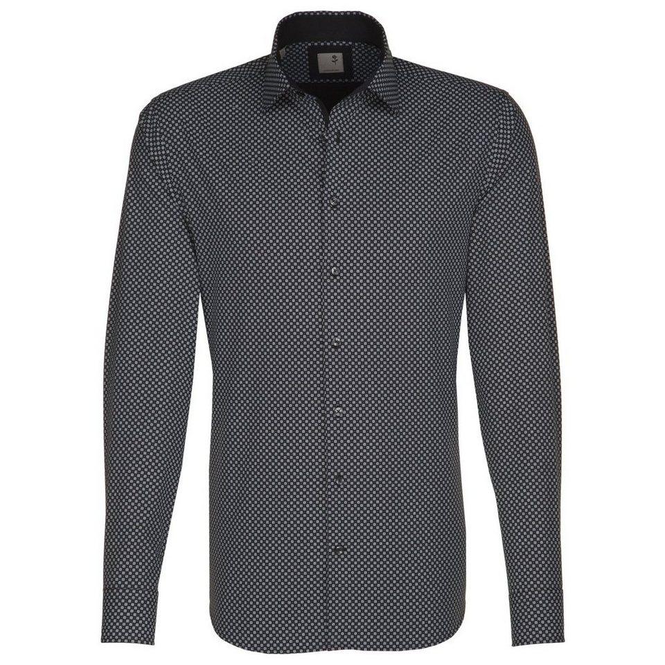 SEIDENSTICKER Businesshemd »Tailored« in schwarz