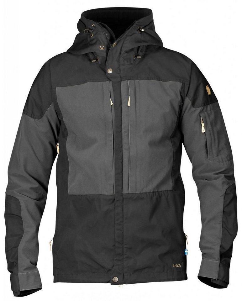 Fjällräven Outdoorjacke »Keb Jacket Men« in schwarz