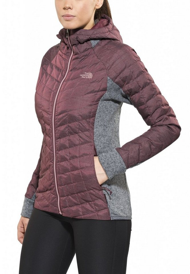 The North Face Outdoorjacke »Thermoball Gordon Lyons Hoodie Women« in rot