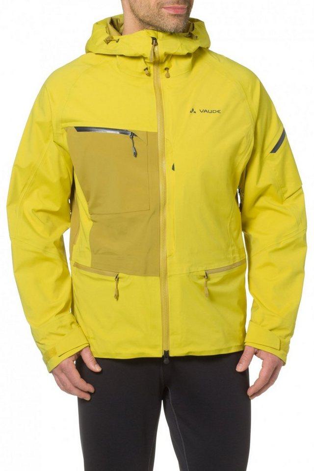 VAUDE Regenjacke »Boe Jacket Men« in gelb