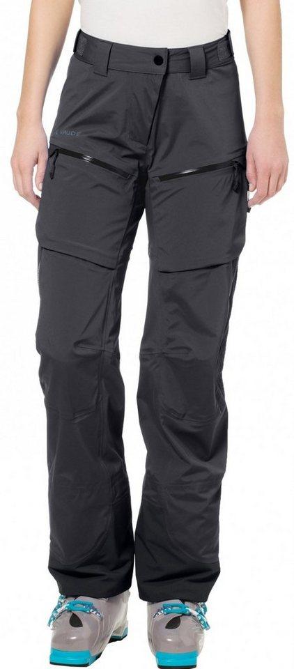 VAUDE Outdoorhose »Boe Pant Women« in schwarz