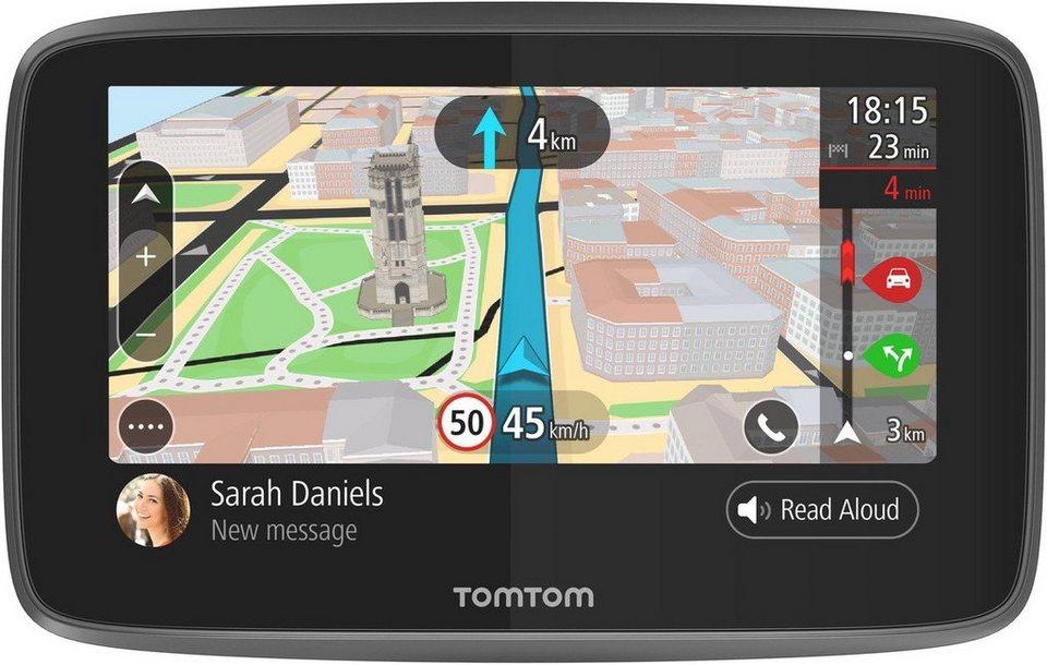 TomTom Navigationsgerät »GO 5200 World« in Schwarz