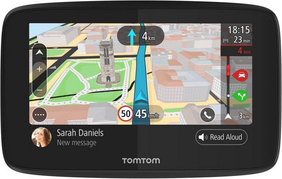 TomTom Navigationsgerät »GO 520 World« in Schwarz
