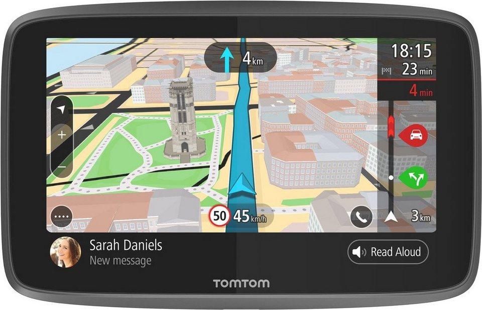 TomTom Navigationsgerät »GO 6200 World« in Schwarz