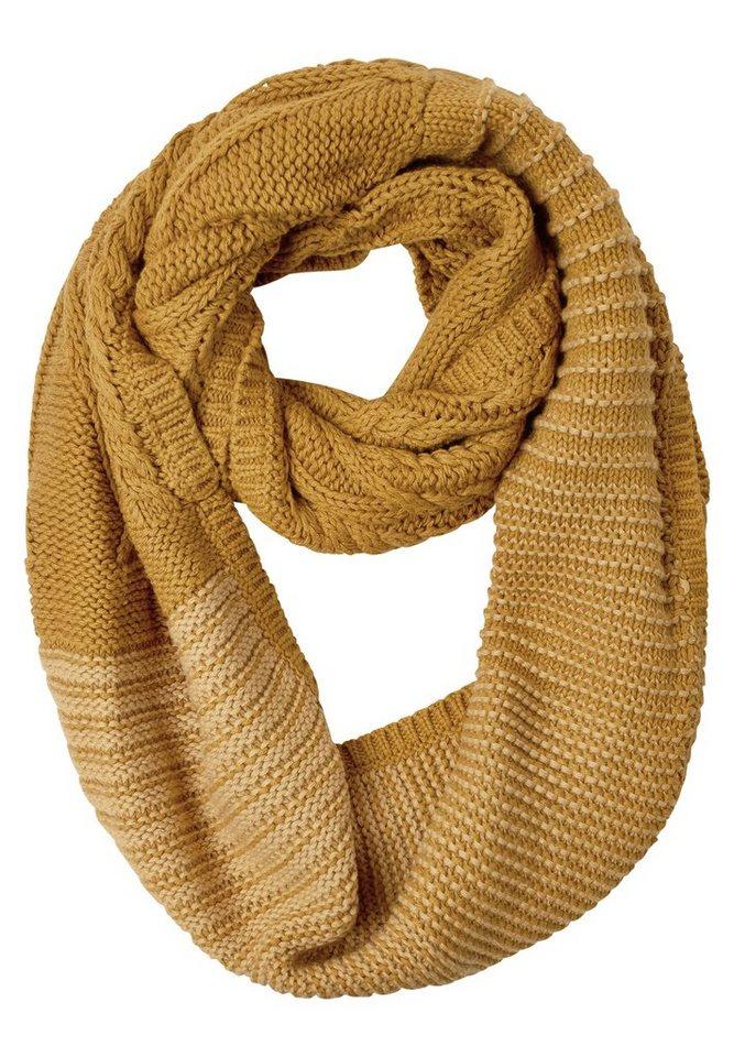 CECIL Weicher Loop aus Baumwolle in golden glow