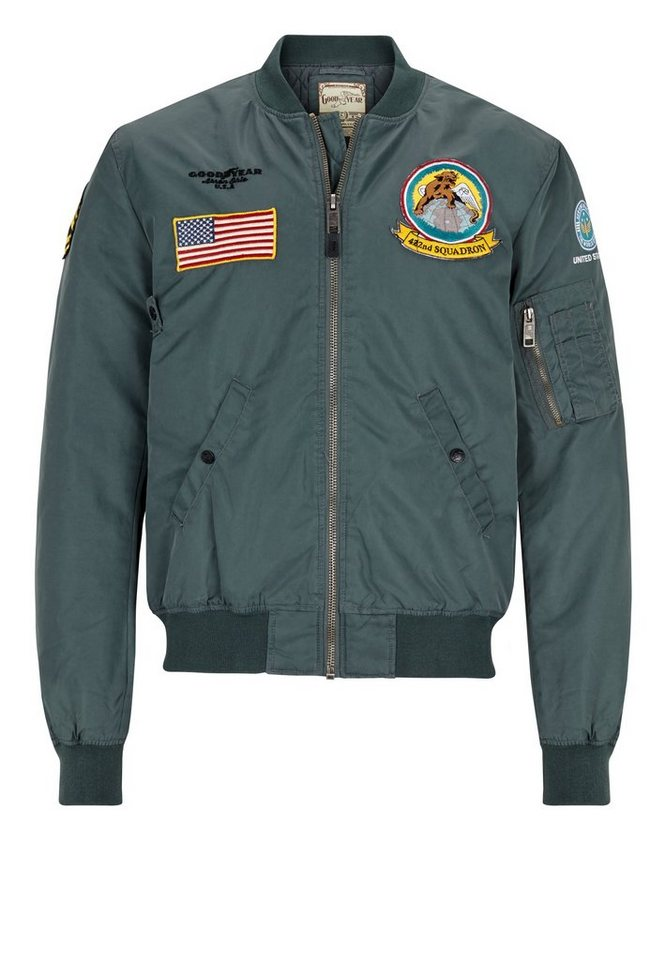 Goodyear Fliegerjacke CHASE »CHASE« in Army Green