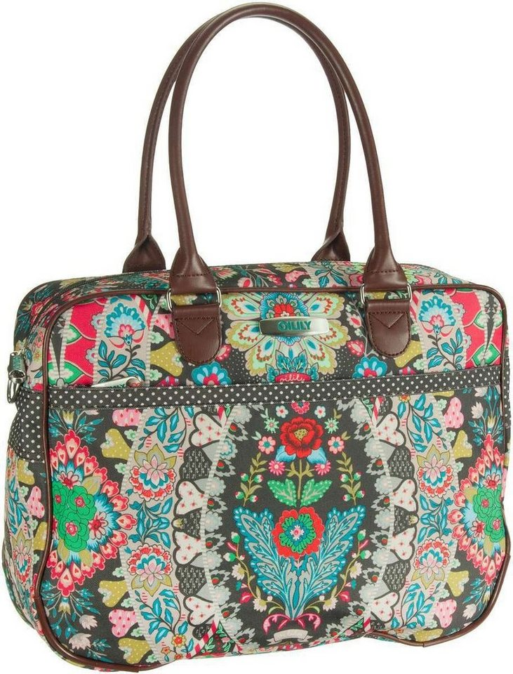 Oilily Travel Office Bag in Charcoal
