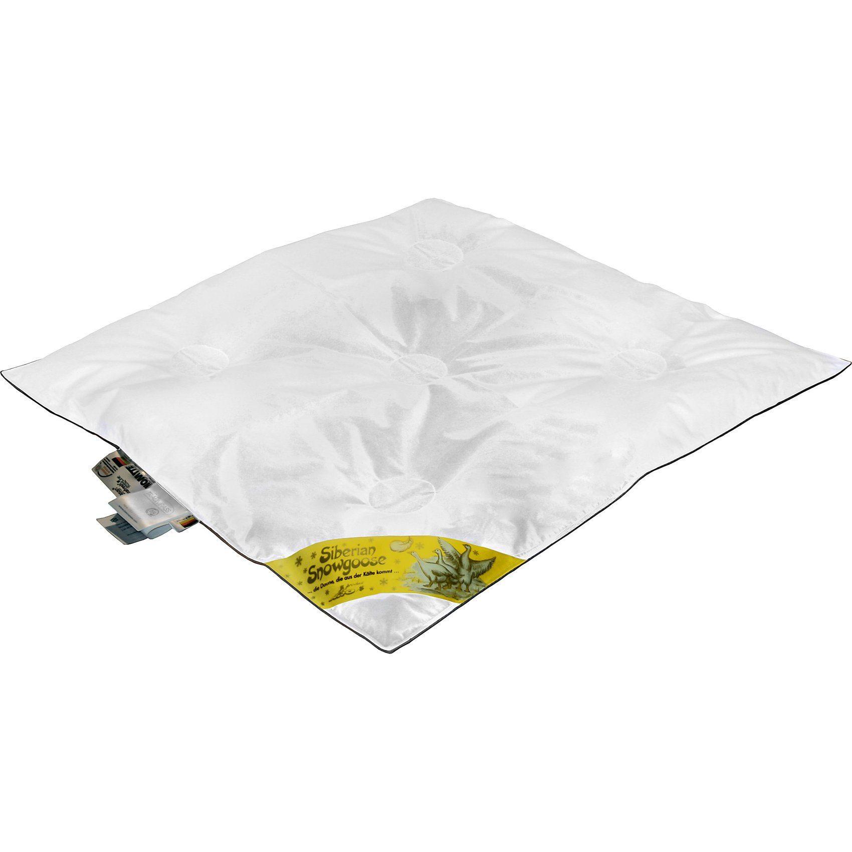 Artländer Baby Bettdecke, Klimakammern, Daunen (100%), 80 x 80 cm